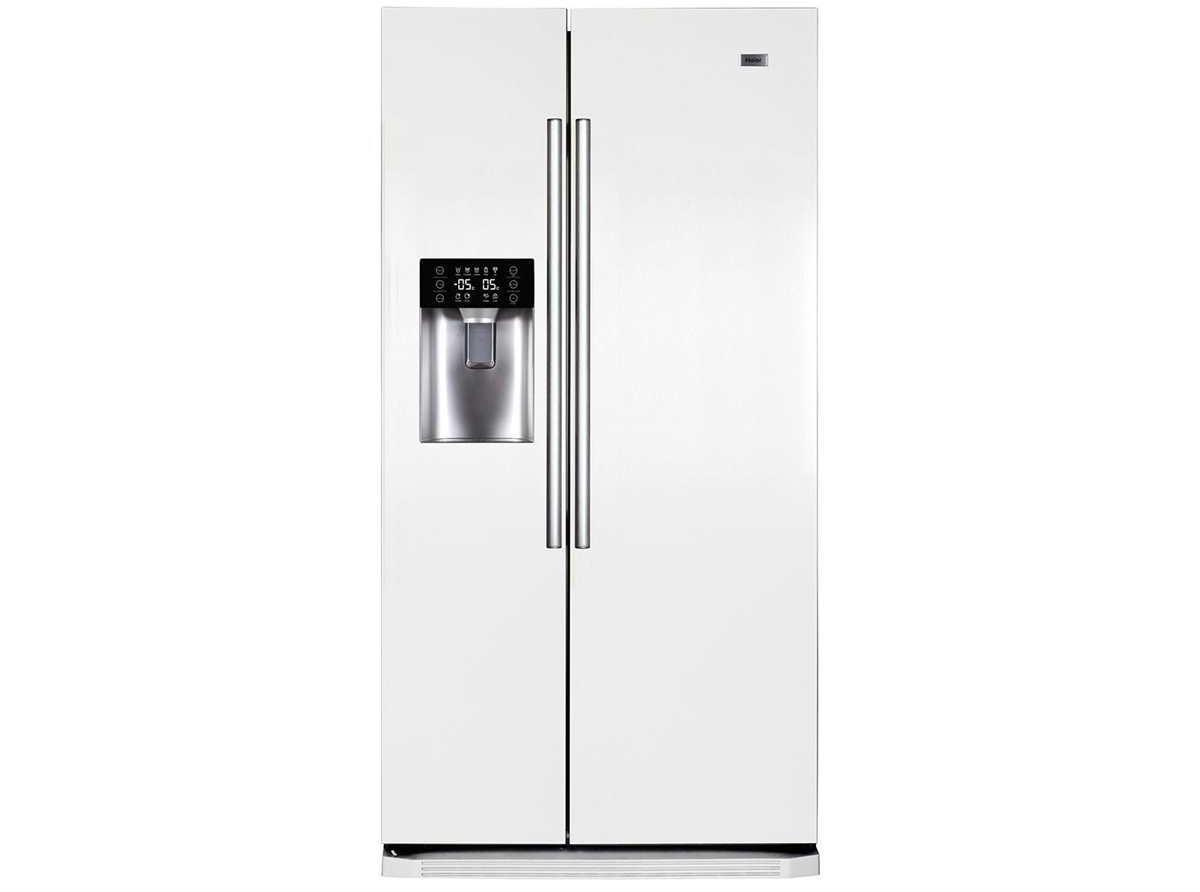Kühlschrank Haier : Haier hrf ds side by side kühlschrank kühl gefrier