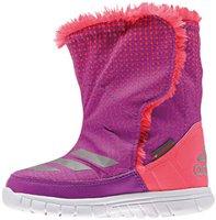 Adidas Warmest Harmony Baby shock purple/silver metallic/flash red