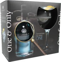The London Gin No.1 mit Glas 0,7l 47%