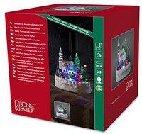 Konstsmide LED Szenerie mit Haus und Spiel