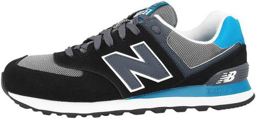 new balance 574 weiß blau