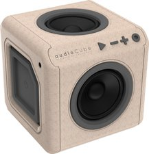 Allocacoc audioCube Portable WOOD edition