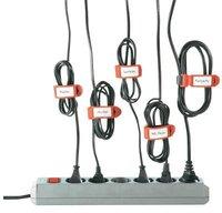 LTC Klett-Kabelbinder schwarz