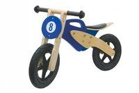 Jamara Laufrad Holz Moto blau  (4600232)