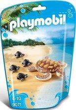 Playmobil Family Fun - Wasserschildkröte mit Babys (9071)