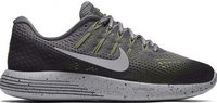 Nike LunarGlide 8 Shield Wmns dark grey/metallic silve/black/volt