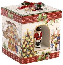 Villeroy & Boch Christmas Toys Geschenkpaket groß eck. Weihnachtsmarkt 21cm