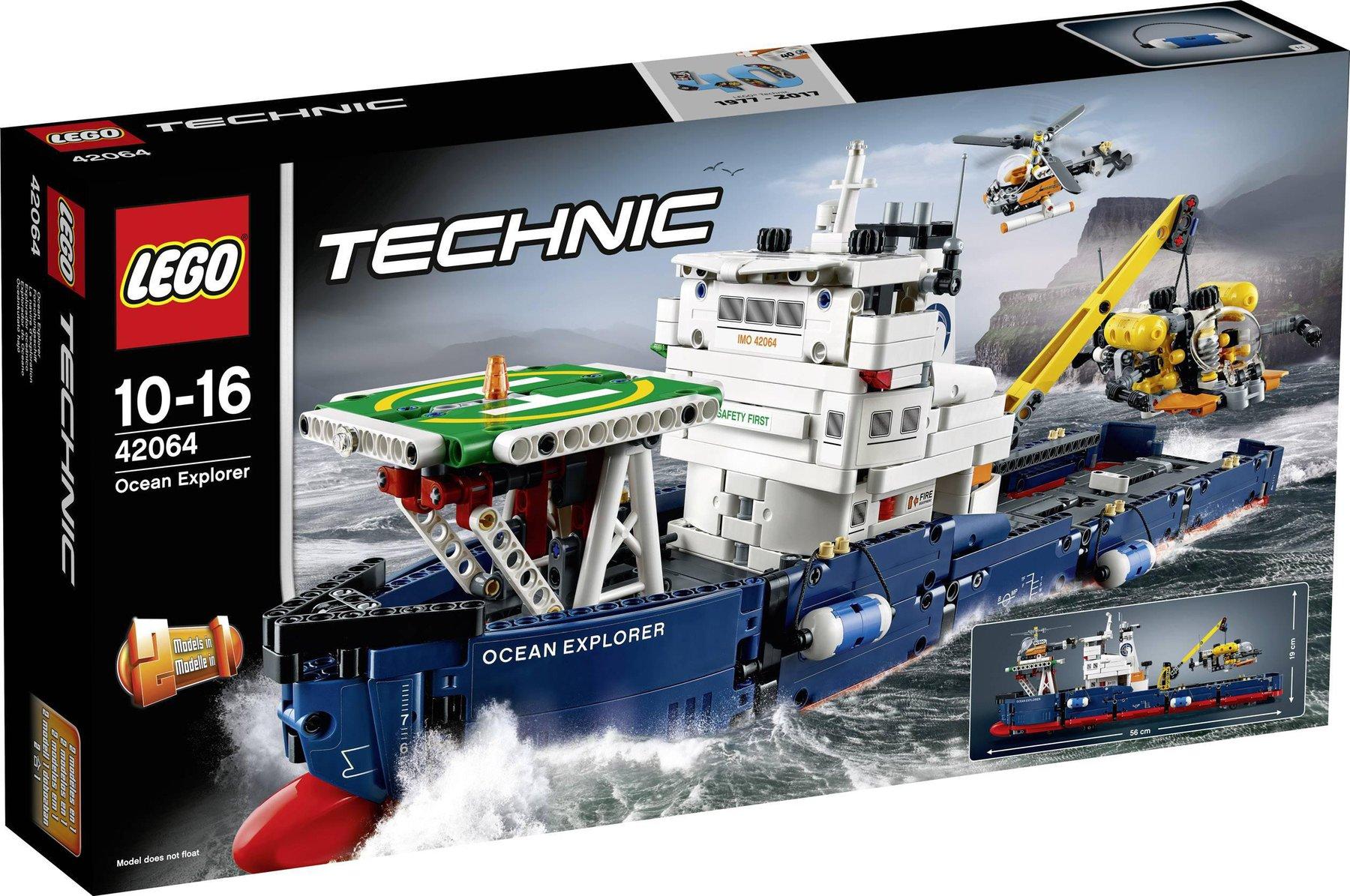 Lego Technic Forschungsschiff 42064 Günstig Kaufen