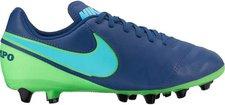 Nike Tiempo Legend VI AG-PRO Jr coastel blue/polarized blue/rage green