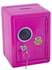 Jolly Spardose in Tresor-Optik Pink