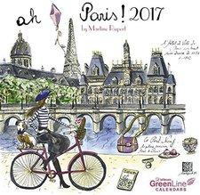 teNeues GreenLine Paris Martine Rupert 2017 Mini-Broschürenkalender
