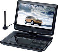 Reflexion DVD1015T2HD Tragbarer TV mit DVD-Player