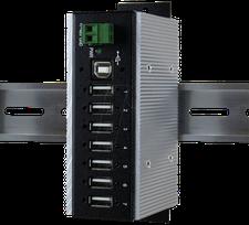 Exsys 7 Port USB 2.0 Hub (EX-1177HMVS-WT)