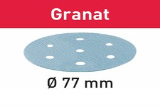 Festool Schleifscheiben Granat STF D77mm 6-Loch P1000, 50Stk.