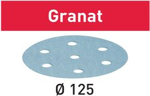 Festool Schleifscheiben Granat STF D125mm 8-Loch P100, 100Stk.