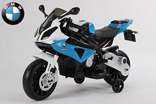 Elektro Kindermotorrad von BMW lizenziert S1000RR 12V7Ah+EV Kinderfahrzeug