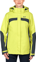 Jack Wolfskin Topaz II Jacket Women Bright Absinth