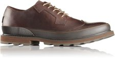 Sorel Madson Wingtip Lace Men madder brown