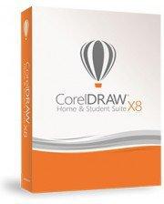 Corel Draw Graphics Suite X8 Home & Student (3 User) (DE) (ESD)