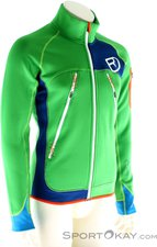 Ortovox Merino Fleece Plus Jacket M absolute green