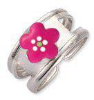 Scout Silberring Blumen pink (263000100)