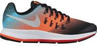 Nike Air Zoom Pegasus 33 GS black/metallic silver/hyper orange