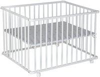 Schardt Laufgitter Basic weiß (75 x 100) Sternchen grau