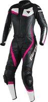 Dainese Veloster 2 tlg. Damen schwarz/pink