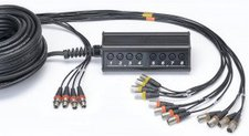 Cordial CYB 12-4 C Multicore Kabel (12x IN/4x Out, Länge 30m)