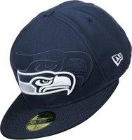 New Era Seattle Seahawks NFL Sideline 59FIFTY navy blue