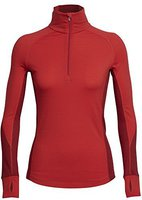 Icebreaker BodyfitZone Winter Zone Long Sleeve Women's rocket