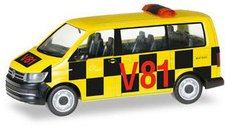 Herpa VW T6 Bus, Follow me Flughafen (092821)