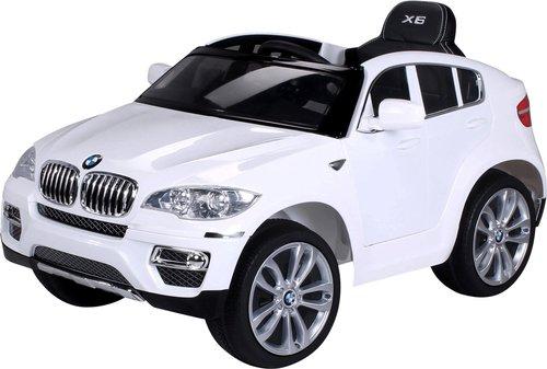 actionbikes kinder elektroauto bmw x6 wei kaufen bei. Black Bedroom Furniture Sets. Home Design Ideas