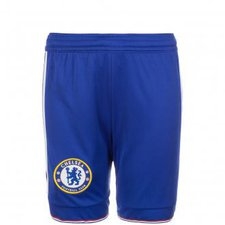 Adidas FC Chelsea Shorts Kinder Home 2015/2016 blau