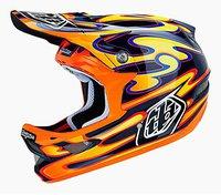 Troy Lee Designs D3 Squirt orange-schwarz