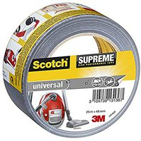 Scotch Supreme 48mm x 25m grau (4101S25)