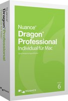 Nuance Dragon Professional Individual 6 for Mac (DE) (Box) (EDU)