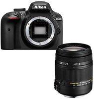 Nikon D3400 Kit 18-250 mm Sigma