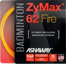 Ashaway ZyMax 62 Fire Set