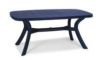 Best Freizeitmöbel Kansas Tisch oval 192x105cm blau (18519220)