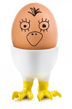 Donkey Products Funky Egg Cups - Berta
