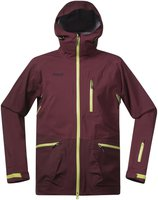 Bergans Myrkdalen Jacket ruby/dark ruby/spring leaves