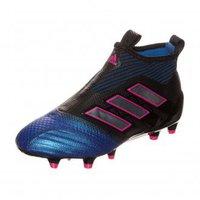 Adidas ACE 17+ Purecontrol FG Jr core black/footwear white/blue