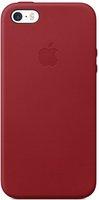 Apple Leder Case (iPhone SE) rot