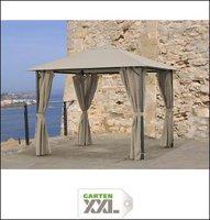 Grasekamp Pavillon Nizza 3x3m taupe