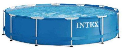 intex pools steel frame pool 366 x 91 cm g nstig online bestellen. Black Bedroom Furniture Sets. Home Design Ideas