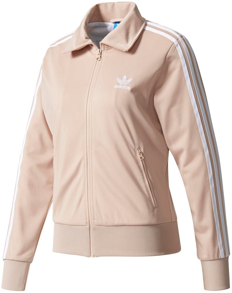 08615dc5bc30dc Adidas Firebird Jacke Damen Info Poster dust pearl günstig kaufen