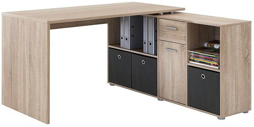 Fmd Möbel Schreibtisch Lex Sonoma Eiche Günstig Kaufen