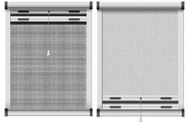 schellenberg insektenschutz und verdunkelungs rollo f r dachfenster 70x140 cm preisvergleich ab. Black Bedroom Furniture Sets. Home Design Ideas