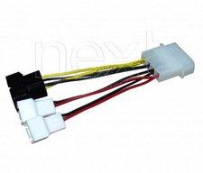 Zalman 4 x 4 zu 3-Pin Multiconnector
